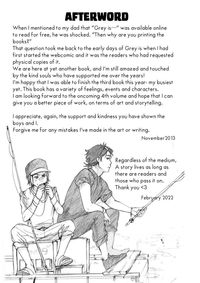 Volume 03: Afterword